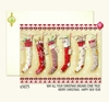 Item # 552135 - Christmas Dreams Stockings Christmas Cards