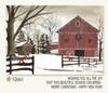 Item # 552152 - Barn Snowy Trees Christmas Cards