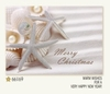Item # 552156 - White Starfish Shells Christmas Cards