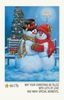 Item # 552159 - Snow Couple Christmas Cards