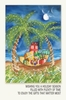 Item # 552174 - Palm Trees With Gifts Christmas Cards