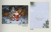 Item # 552180 - Santa/Horses Christmas Cards