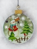 Item # 558008 - Small Snowman Christmas Ornament