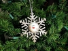 Item # 558036 - Snowflake Bell Ornament