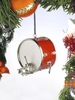 "Item # 560040 - 1.5"" Red Bass Drum Ornament"