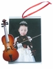 "Item # 560066 - 3"" x 4.5"" Cello Photo Frame Ornament"