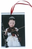 "Item # 560076 - 3"" x 4.5"" Clarinet Photo Frame Ornament"