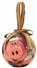 Item # 565006 - Blinking Country Pig Ornament