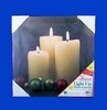 Item # 568227 - Lighted LED Canvas Candles Painting