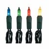 Item # 568240 - Set of 35 Christmas Tree Lights With Green Wire & Multicolor Bulbs