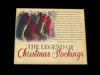 Item # 568354 - The Legend of Christmas Stockings Wall Hanging