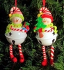 Item # 568416 - Snowman Bell Ornament