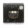 Item # 568427 - Set of 60 Moon Lights With Black Wire & Soft White Bulbs