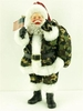 Item # 599039 - Soldier Santa Sit Around