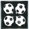 Item # 599074 - 67 MM Decorated Soccer Ball Christmas Ornament