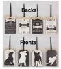 Item # 601201 - Dog Gift Tag Sign Ornament