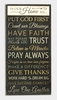 Item # 601560 - Religious Wall Plaque