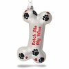 Item # 620078 - Fetch Me My Wine Glass Christmas Ornament