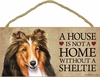 Item # 628049 - Sheltie House Not Home Sign