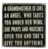 Item # 642014 - A Grandmother Box Sign