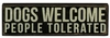 Item # 642023 - Dogs Welcome Box Sign
