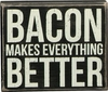 Item # 642032 - Bacon Makes Box Sign