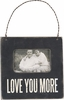Item # 642033 - Love You More Mini Box Photo Frame