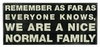 Item # 642044 - Nice Normal Family Box Sign
