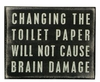 Item # 642045 - Toilet Paper Box Sign