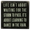 Item # 642059 - Dance In The Rain Box Sign