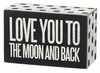 Item # 642098 - To The Moon Box Sign
