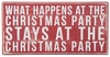 Item # 642149 - Christmas Party Box Sign
