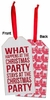Item # 642154 - Christmas Party Bottle Tag
