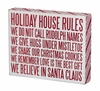 Item # 642168 - Holiday Rules Box Sign