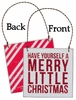 Item # 642174 - Merry Box Sign Plaque