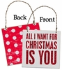 Item # 642179 - All I Want For Christmas Is You Box Sign Plaque