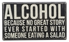Item # 642200 - Alcohol Box Sign