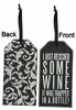 Item # 642217 - Rescued Wine Bottle Tag