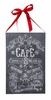 Item # 642224 - Snowflake Caf� Chalk Sign