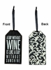 Item # 642226 - Without Wine Bottle Tag