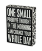 Item # 642230 - Positive Thought Box Sign