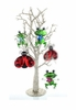 Item # 680153 - Jewel Frog/Ladybug Christmas Ornament