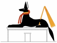 Anubis Egyptian Spell For the Afterlife