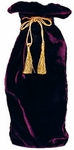 Burgundy Velvet French Witch Haversack
