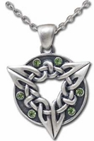 Celtic Knot Ring Necklace