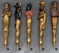 Egyptian Spell Pens - Write Your Wish Pens