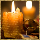 Healing Spell Candle With Spell Casting