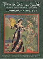 Pamela Colman Smith Commemorative Tarot Set (deck & book) by Pamela Colman Smith