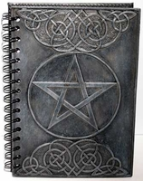 Pentagram Book of Shadows - With Spell Casting