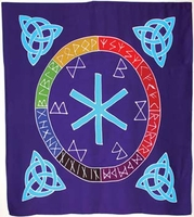 Rune Mother Altar Cloth or Scarve